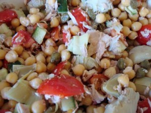 tuna-and-chickpea-salad