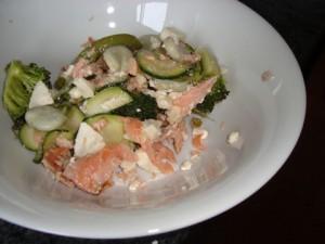trout-salad