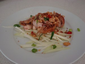 Chicken & Green Papaya Salad