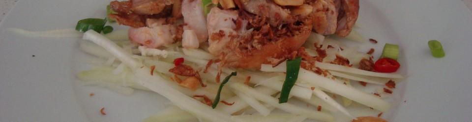 Chicken & Green Papaya Salad