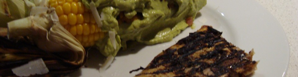 avocado crema corn
